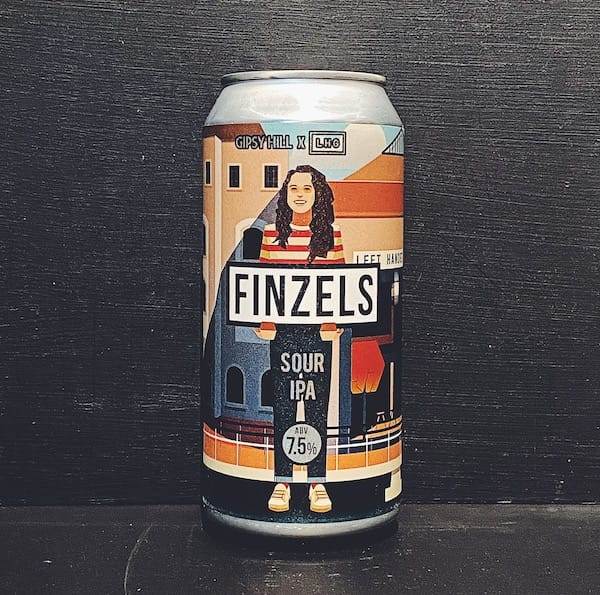 Gipsy Hill Left Handed Giant Finzels Sour IPA London collaboration