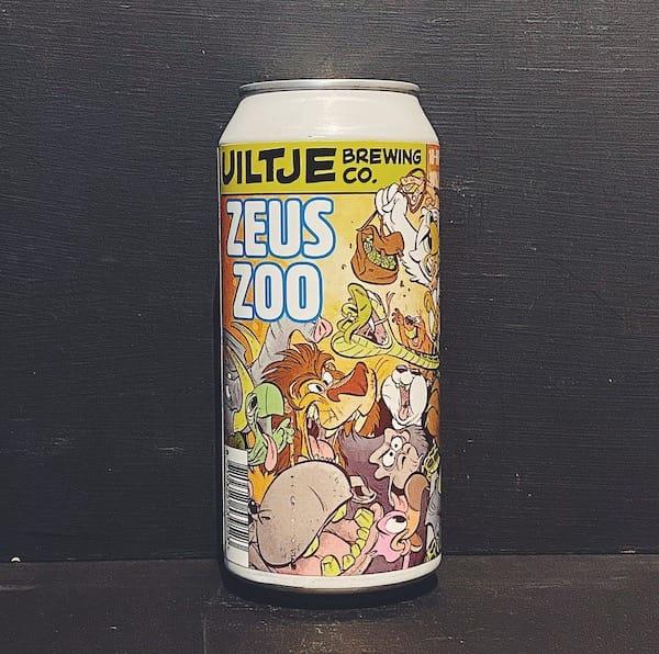 Het Uiltje Zeus Zoo 10 Hop West Coast IPA Netherlands vegan