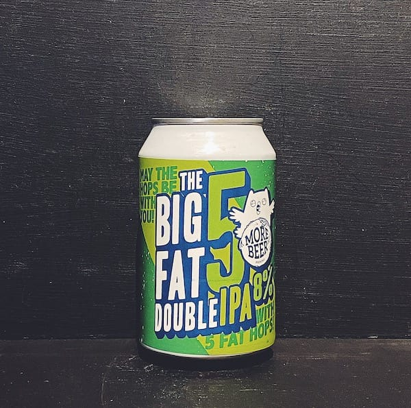 Moreover Het Uiltje The Big Fat 5 Double IPA Netherlands vegan collaboration