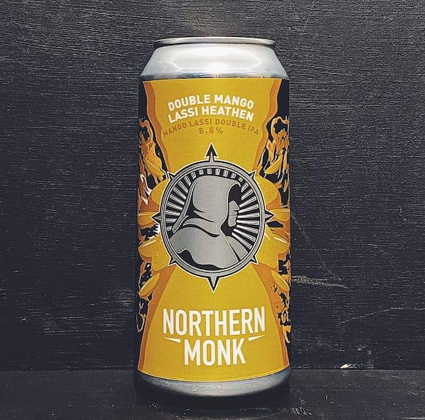 Northern Monk Double Mango Lassi Heathen Mango Lassi Double IPA Leeds