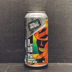 Totally Brewed The Can From Del Monte Pineapple Wheat Beer Nottingham vegan