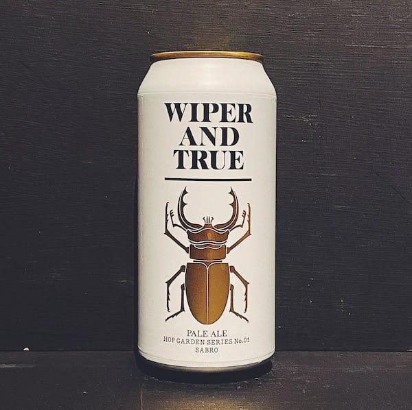 Wiper & True Hop Garden Series No. 1: Sabro. Pale Ale Bristol vegan