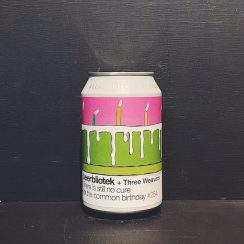 Beerbliotek Three Weavers There Is Still No Cure For The Common Birthday Double IPA Sweden vegan collaboration