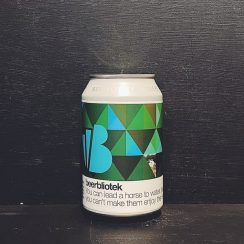 Beerbliotek You Can Lead A Horse To Water But You Can't Make Them Enjoy The View Double NEIPA Sweden vegan