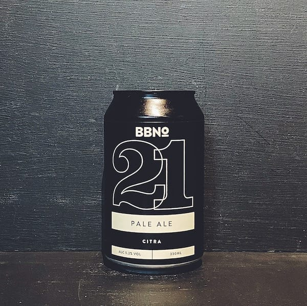 Brew By Numbers 21 Pale Ale Citra London vegan