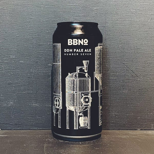 Brew By Numbers 42 DDH Pale Ale Number Seven London vegan