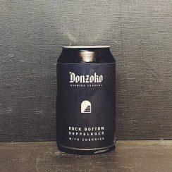 Donzoko Rock Bottom Cherry Doppelbock Hartlepool vegan