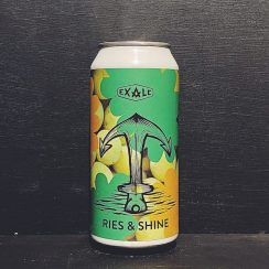 Exale Ries & Shine Riesling Grape Juice Pilsner London vegan