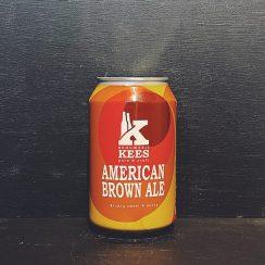 Kees American Brown Ale Netherlands vegan