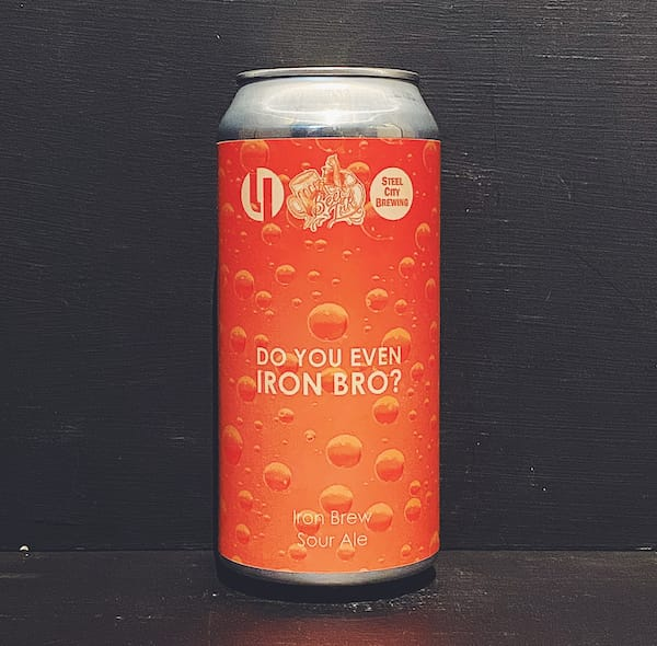 Lost Industry Do You Even Iron Bro? Iron Brew Sour Sheffield vegan