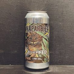 Naparbier Overfed Banana Imperial Stout Spain vegan