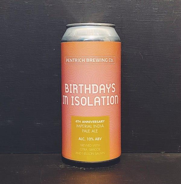 Pentrich Birthdays In Isolation IIPA Derbyshire vegan