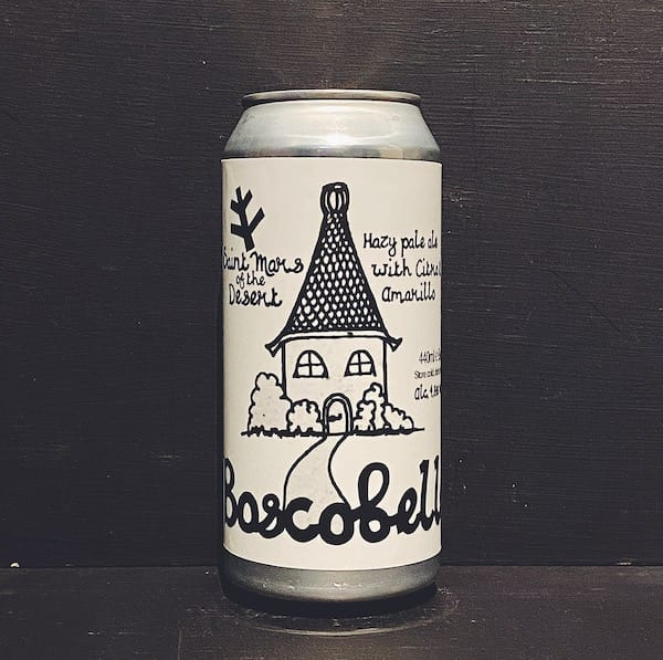 St Mars of the Desert Boscobelle New England Pale Ale Sheffield vegan