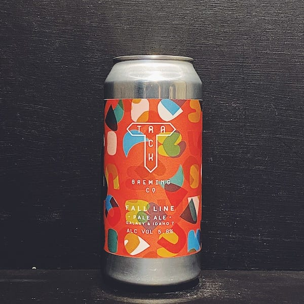Track Fall Line Pale Ale Manchester vegan