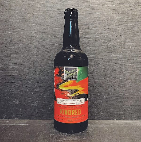 Upland Paradox Kindred Fruited Brown USA vegan collaboration