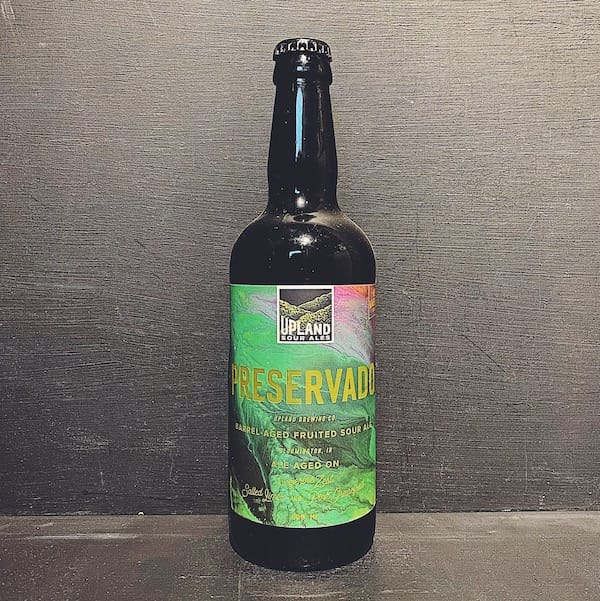 Upland Preservado Barrel Aged Sour USA vegan