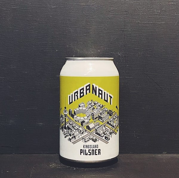 Urbanaut Kingsland Pilsner New Zealand vegan
