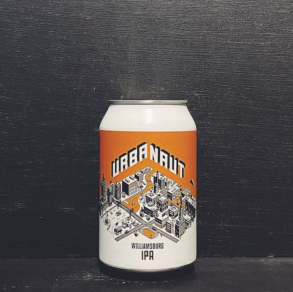 Urbanaut Williamsburg IPA New Zealand vegan