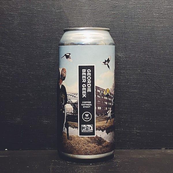 Wylam X Mikkeller Geordie Beer Geek Coffee Oatmeal Stout Newcastle vegan collaboration