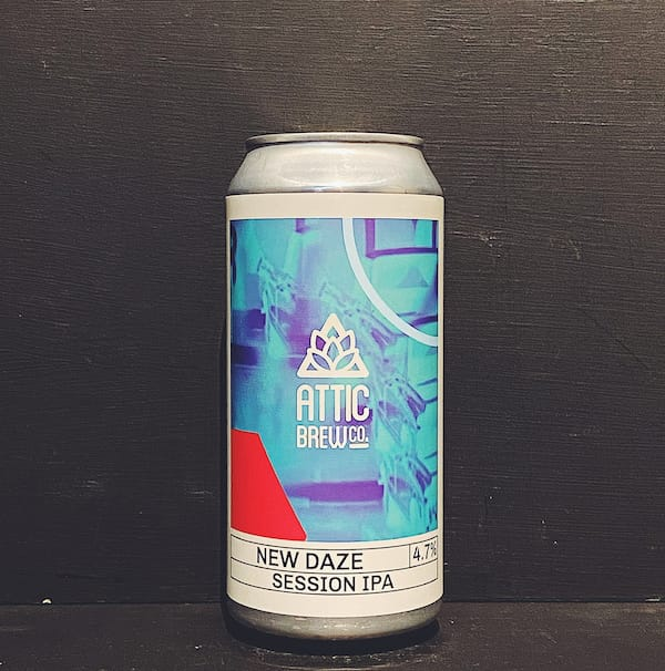 Attic Brew Co New Daze Session IPA Birmingham vegan