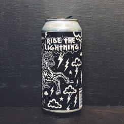 Black Iris X Twisted Barrel Ride The Lightning NZ Wheat Ale Nottingham vegan friendly