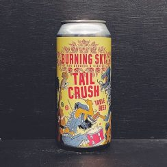 Burning Sky Tail Crush Table Beer Sussex vegan