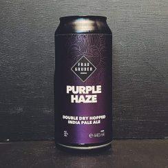 FrauGruber Purple Haze DDH IPA Germany vegan