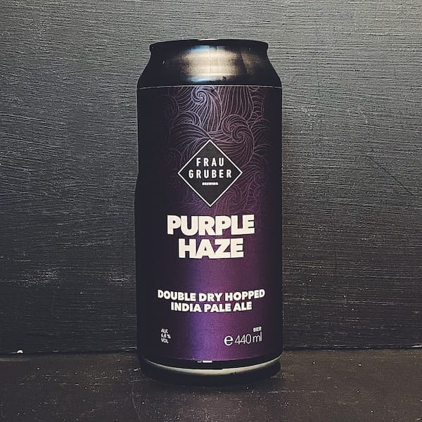 FrauGruber Purple Haze DDH IPA Germany vegan