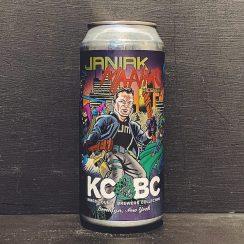 KCBC Janiak Maniac Pilsner USA vegan