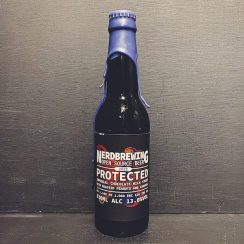 Nerdbrewing Protected. Imperial Chocolate Milk Stout with roasted peanuts & caramel. Sweden