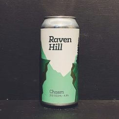 Raven Hill Chasm Session NEIPA Yorkshire vegan