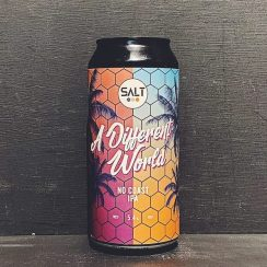 Salt Beer Factory A Different World No Coast IPA Yorkshire vegan