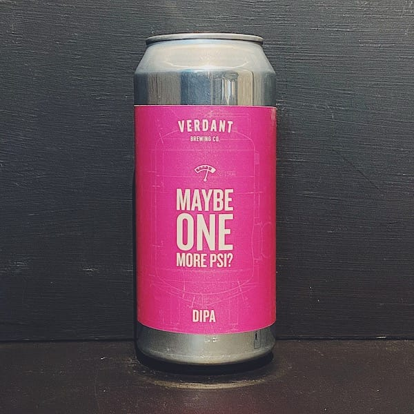 Verdant Maybe One More PSI? Mosaic DIPA Cornwall vegan