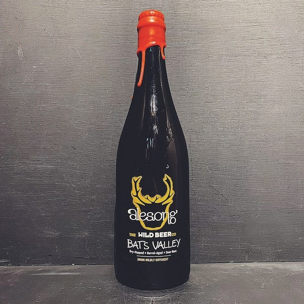 Wild Beer Co Bats Valley Dry Hopped Barrel Aged Sour Alesong Collaboration Somerset vegan