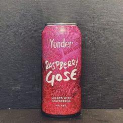 Yonder Raspberry Gose Somerset vegan