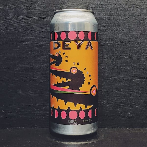 Deya Back To Earth DIPA Cheltenham vegan