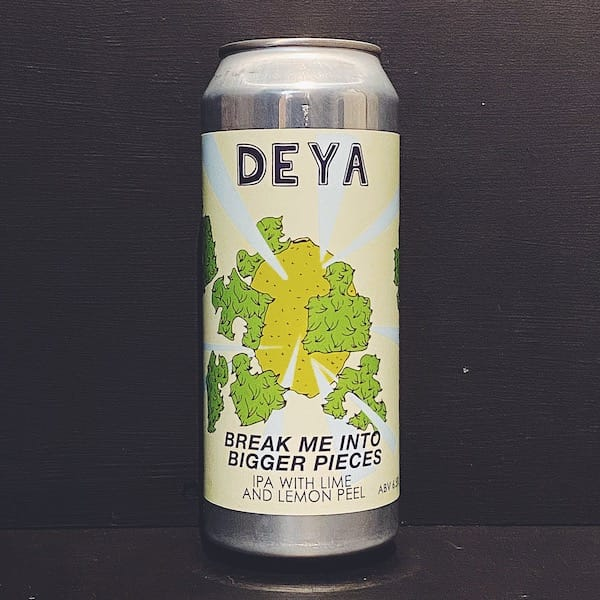 Deya Break Me Into Bigger Pieces Lime & Lemon IPA Cheltenham vegan