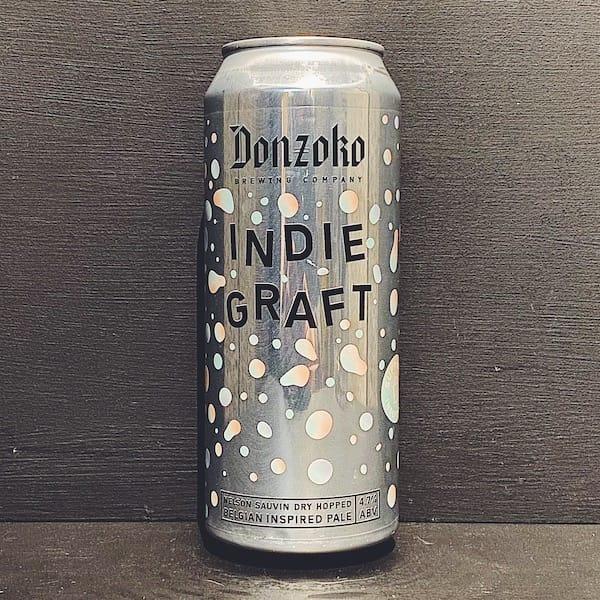Donzoko Indie Graft Belgian Pale Hartlepool vegan
