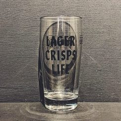 Donzoko Lager Crisps Life Glass Hartlepool