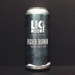 LIC Beer Project Higher Burnin IPA USA vegan
