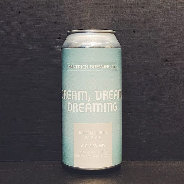 Pentrich Dream Dream Dreaming Imperial IPA Derbyshire
