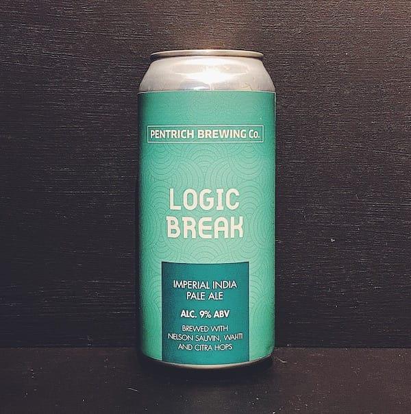 Pentrich Brewing Logic Break IIPA Derbyshire vegan