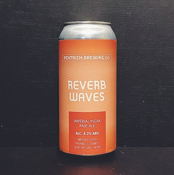 Pentrich Brewing Reverb Waves IIPA Derbyshire vegan
