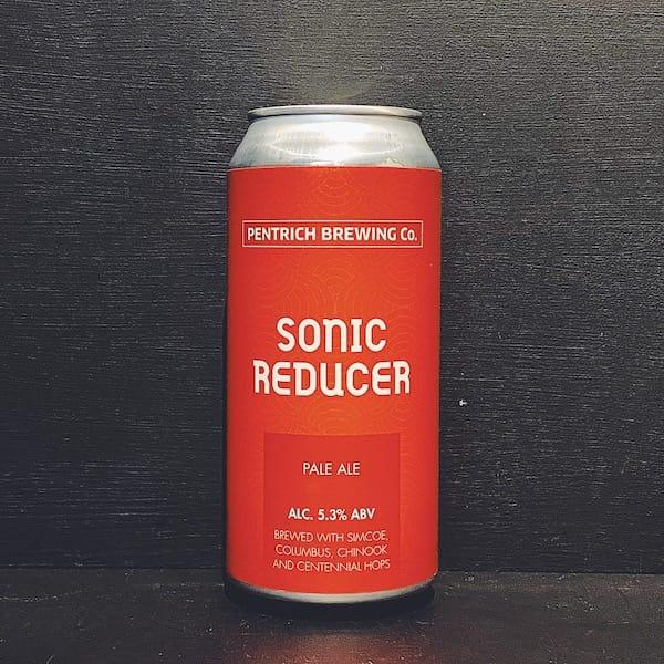 Pentrich Sonic Reducer Pale Ale Derbyshire vegan