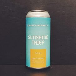 Pentrich Brewing Sunshine Thief Pale Ale Derbyshire vegan