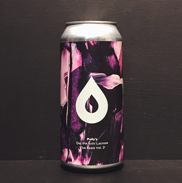 Pollys Brew Co The Feels Vol 3 Oat IPA with Lactose Wales