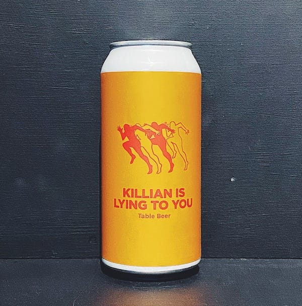 Pomona Island Killian Is Lying To You Table Beer Salford vegan