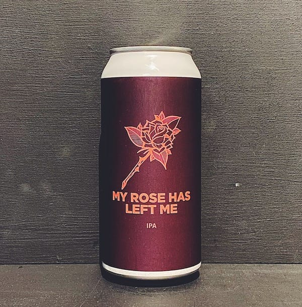 Pomona Island My Rose Has Left Me IPA Salford vegan