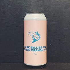 Pomona Island Pork Bellies & Frozen Orange Juice DDH Pale Salford vegan