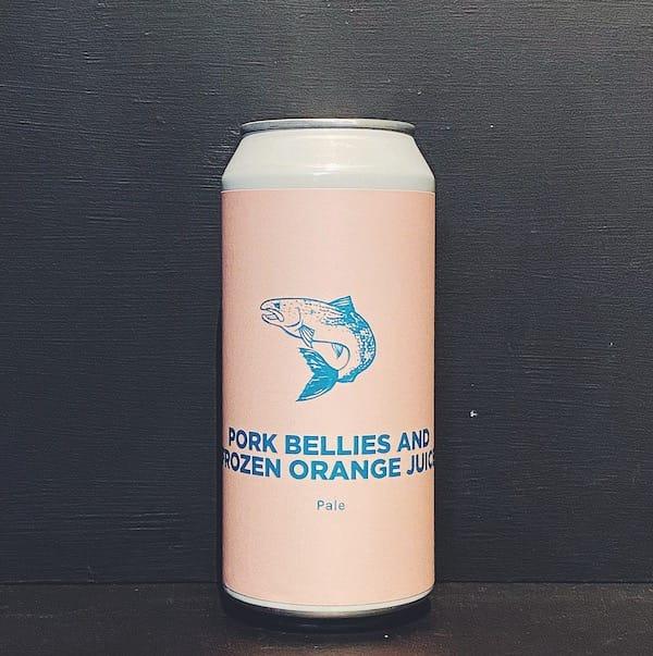Pomona Island Pork Bellies & Frozen Orange Juice DDH Pale Salford vegan
